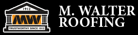 M. Walter Roofing Company Logo
